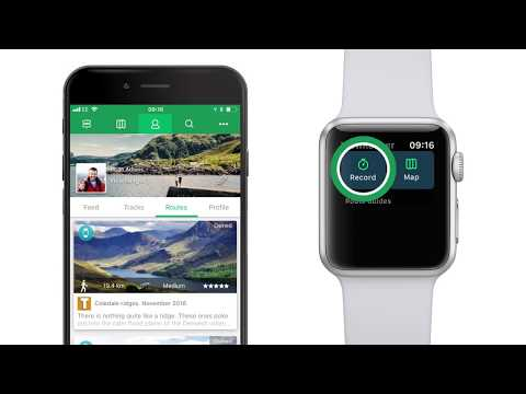 ViewRanger app tutorial: how to use ViewRanger on Apple Watch