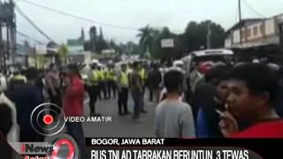 Video Ini Dia Detik Detik Kecelakaan Bus TNI AD, Bogor - iNews Petang 07/12 MP3, 3GP, MP4, WEBM, AVI, FLV Mei 2019