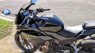 6. Honda CBR500R Oil Change Tutorial
