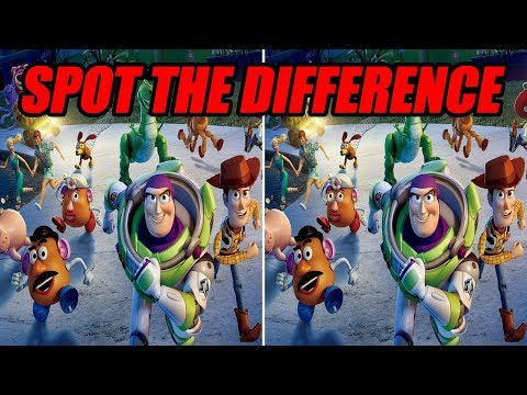 Toy Story┃Spot The Difference┃Search And Find