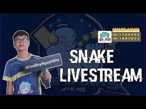 [LIVE] Snake - Chơi cùng đồng đội mới - Thời lượng: 4:43:55.