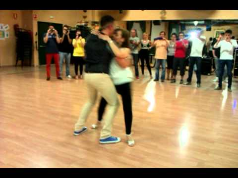 Paco & M. Paz Bachata - 1er WEEKEND CALIPSO and REINA 2014-05-31