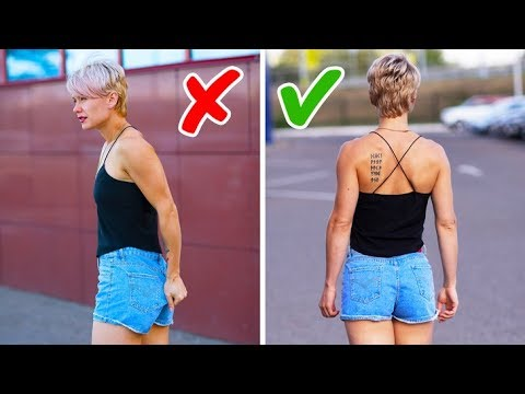 25 BRILLIANT CLOTHING HACKS EVERY GIRL NEEDS TO KNOW - Thời lượng: 24 phút.