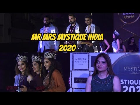 Juveria Nusrat Director Of Mystique Events Organised Miss Mr Mrs Mystique India 2020 At Phoenix Mall