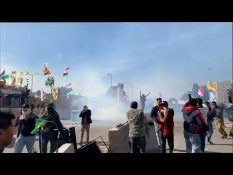 Βαγδάτη: Ενισχύονται τα μέτρα προστασίας στην Πρεσβεία των ΗΠΑ…