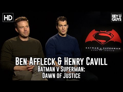 Ben Affleck & Henry Cavill Exclusive Interview – Batman v Superman: Dawn of Justice And Movie Review