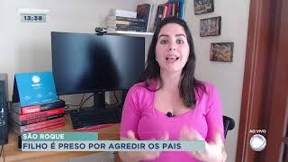 Homem é presos suspeito de agredir os pais em São Roque