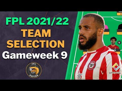 FPL GAMEWEEK 9 TEAM SELECTION | TOP 60K RANK | Fantasy Premier League Tips 2021/22