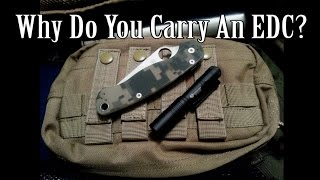 Every Day Carry items are extremely important in a large variety of circumstances you may encounter. Choose your EDC wisely.This was a fun video, hope you guys get some laughter, or a groundbreaking discovery in life out of it.Music by Jason Shaw of audionautix.com, used with permission.Filmed with a Canon EOS M 18-55, Mic Zoom H1 RecorderI'd appreciate if you could like our FB page here: http://www.facebook.com/beactivelifeThanks!