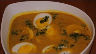 Have you ever tried Egg curry in coconut milk? If not, here's the recipe! It goes well with any of your favorite breads. I hope you'll like it!Please Like us on Facebook  https://www.facebook.com/pages/Trynewfood/271917062842922?ref=hl
