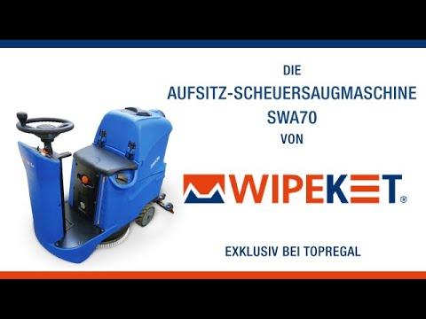 Produktvideo Aufsitz-Scheuersaugmaschine SWA70