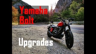9. YAMAHA BOLT Mods & Upgrades