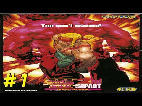 Dreamcast: Street Fighter III 2nd Impact! Part 1 - YoVideogames