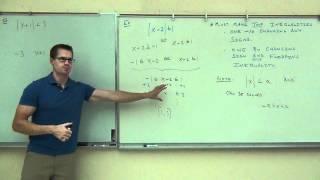 Intermediate Algebra Lecture 9.3