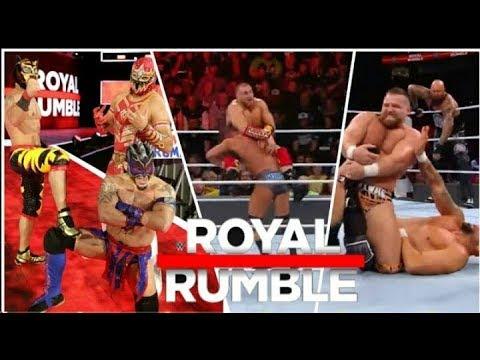 WWE Royal Rumble Kickoff 28 January 2018 Highlights HD - WWE Royal Rumble 1/28/2018 Highlights HD