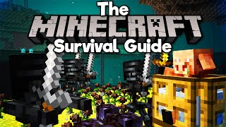 Soul Sand Valley Wither Skeleton Farm! • The Minecraft Survival Guide (Tutorial Lets Play)[Part 342]