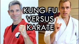 Video Kung Fu versus Karate Challenge with Jesse Enkamp MP3, 3GP, MP4, WEBM, AVI, FLV Mei 2019