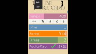 Raise The Bar - Goal Tracker YouTube video
