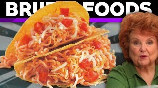 Ramen Noodle Tacos - Weird Recipe Review