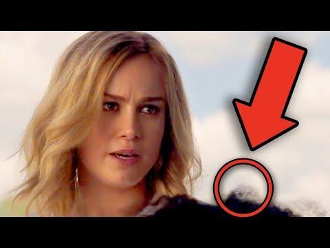 CAPTAIN MARVEL Trailer Breakdown! Easter Eggs & Details You Missed!