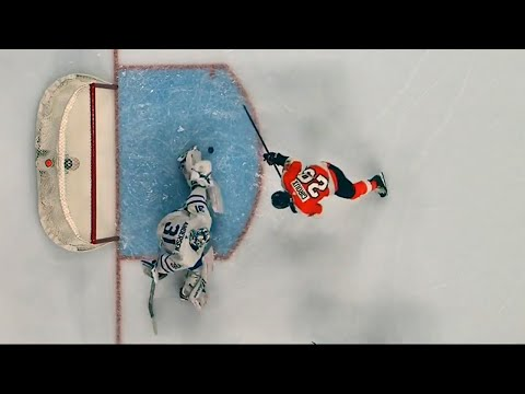 Andersen robs Giroux in tight with pad save