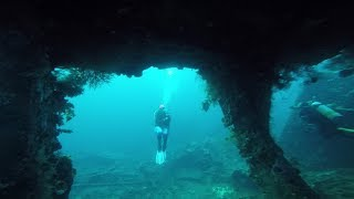 Amazing diving on the USAT Liberty in Bali