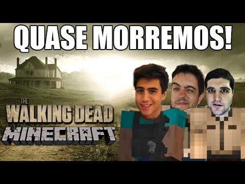Minecraft The Walking Dead – QUASE MORREMOS!!! #08