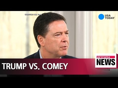 Trump slams Comey after former FBI chief labels him 'morally unfit' for office