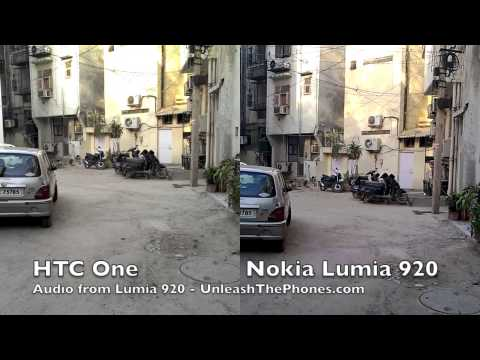 5 real-life video samples shot with the HTC One