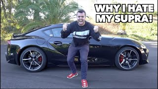 EVERYTHING I HATE ABOUT MY 2020 TOYOTA SUPRA! by Vehicle Virgins