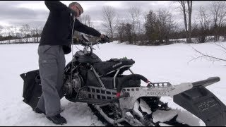 7. How to start your Ski-doo if the pull chord breaks.