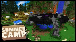 THE END OF SUMMER!! | Minecraft Summer Camp SMP | #16