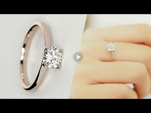 Latest Simple Engagement Ring Designs 2017 [ Asnie ❤