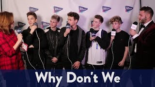 Backstage with Why Don't We at Jingle Ball | KiddNation