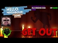 HELLO NEIGHBOUR SONG(GET OUT) By DAGames 1 Hour