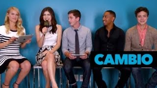 Nonton The 'Percy Jackson' Cast Talks 'Sea of Monsters' | Cambio Film Subtitle Indonesia Streaming Movie Download