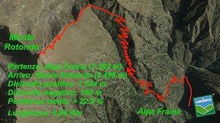 Dall'alpe Fraina al Monte Rotondo