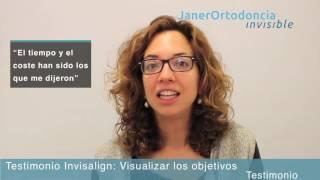 Tratamiento Invisalign: visualizar los objetivos