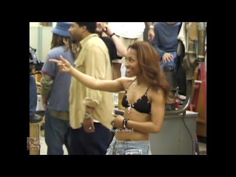 TLC making videos for Girl Talk, Hands Up & Damaged