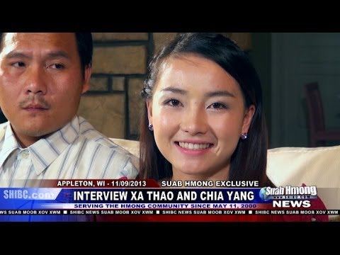 Exclusive Interview - Part 3 (final) of Richard Wanglue Vang, News Anchor for Suab Hmong News, exclusive interviewed Xa Thao (Xab Thoj) and Chia Yang (Txiab Yaj) at Appleton, Wisc...