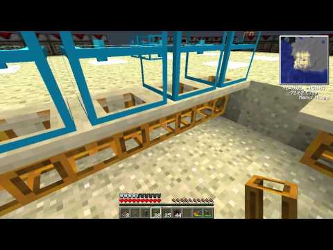 Minecraft - RedPower 2 Sorting System Tutorial/Build with 3 Sorting Machines