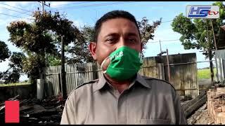 Anggota DPRK Pijay Kunjungi Korban Kebakaran dan Berikan Bantuan