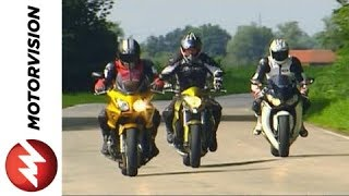 9. Honda CBF 1000 vs. Honda CB 1000 R vs. Honda Fireblade