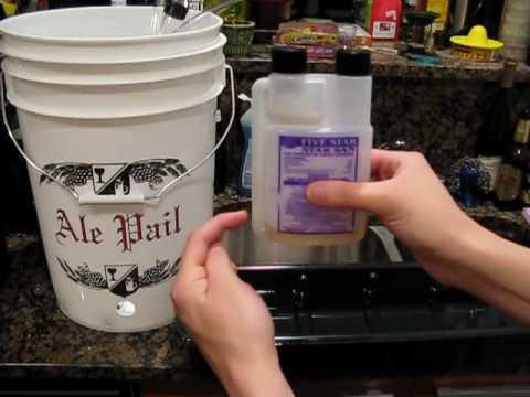 Basics of Home Brewing: How do you use a Star San bottle?