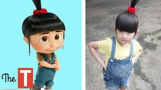 Video 10 DESPICABLE ME Characters In Real Life MP3, 3GP, MP4, WEBM, AVI, FLV Juni 2017