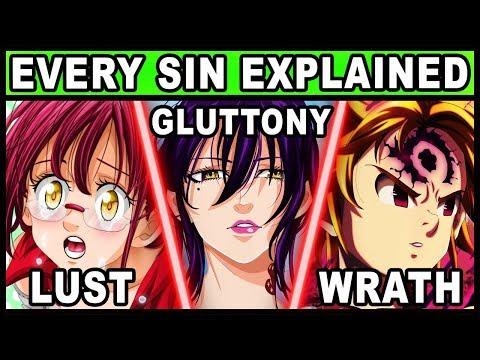 Every Character's Sin Explained! (Seven Deadly Sins / Nanatsu no Taizai)
