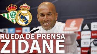 Video Betis - Real Madrid | Rueda de prensa previa de Zidane | Diario AS MP3, 3GP, MP4, WEBM, AVI, FLV Februari 2018