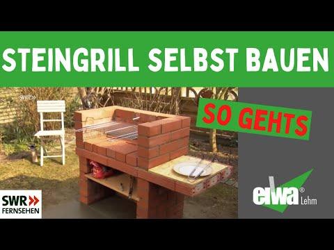 Steingrill-Schnell und einfach selbst bauen der Grill