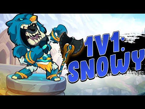 Brawlhalla 1v1: Sparring Snowy