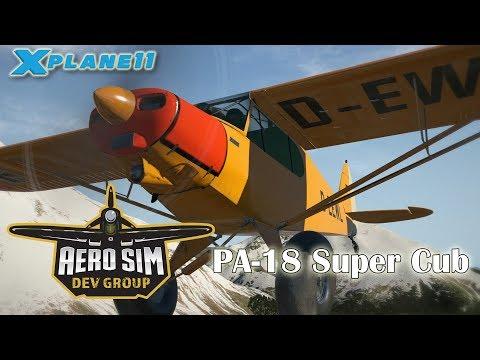 Available Here: http://store.x-plane.org/ASDG-Super-Cub-_p_737.html https://www.aerosimulations.com/shop/asdg-super-cub/  Description: The...